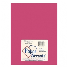 Paper Accents Vellum Sheet Cotton Candy