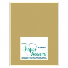 Paper Accents Vellum Sheet 14kt Gold