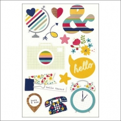 Simple Stories Icon Sticker Sheet Snap Life Documented Collection