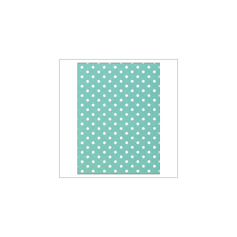 Simple Stories Basic Washi Paper Tape 3x4 inch Sheet Aqua Dots Snap Life Documented Collection