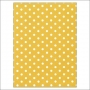Simple Stories Basic Washi Paper Tape 3x4 inch Sheet Yellow Dots Snap Life Documented Collection