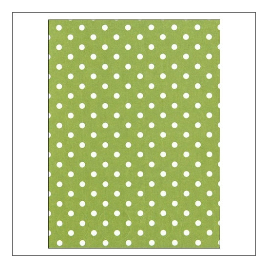 Simple Stories Basic Washi Paper Tape 3x4 inch Sheet Green Dots Snap Life Documented Collection
