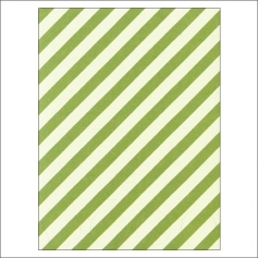 Simple Stories Basic Washi Paper Tape 3x4 inch Sheet Green Diagonal Stripes Dots Snap Life Documented Collection