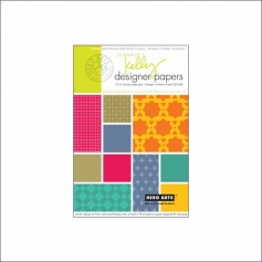 Hero Arts Kellys Designer Paper Clearly Kelly Collection by Kelly Purkey