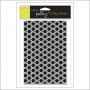 Hero Arts Stencil Kellys Background Squares Cling Stamp Clearly Kelly Collection by Kelly Purkey