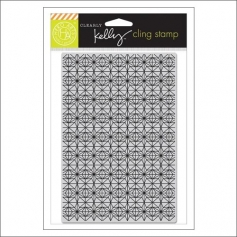 Hero Arts Stencil Kellys Background Stars Cling Stamp Clearly Kelly Collection by Kelly Purkey