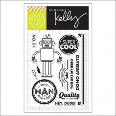 Hero Arts Kellys Super Cool Clear Stamps Clearly Kelly Collection by Kelly Purkey