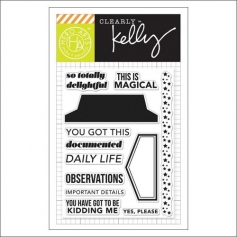 Hero Arts Kellys Daily Life Clear Stamps Clearly Kelly Collection by Kelly Purkey