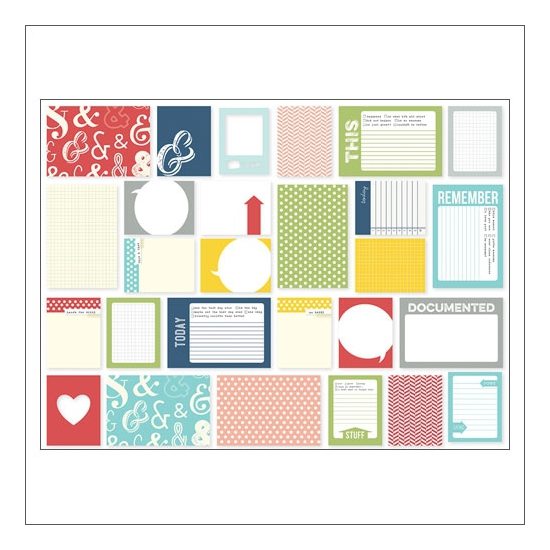 Simple Stories Snap Journaling Card Set Life Documented Collection