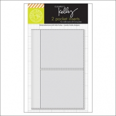 Hero Arts Kellys Wallet Pocket Insert 3 x 4 inches Clearly Kelly Collection by Kelly Purkey