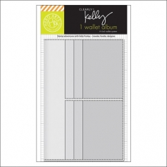 Hero Arts Kellys Wallet Album Clearly Kelly Collection by Kelly Purkey