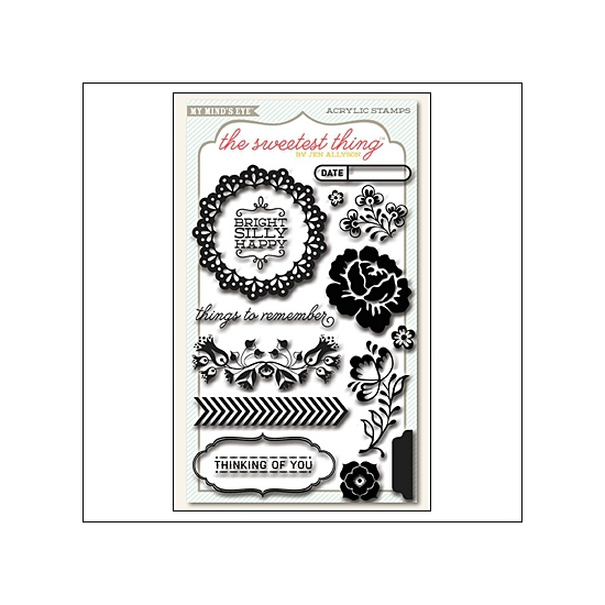 My Minds Eye Clear Stamps Bluebell Remember The Sweetest Thing Collection