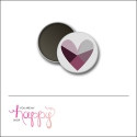 Scrapbook and More 1 inch Round Flair Badge Button Heart by Gentry Bartholomew