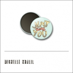 Scrapbook and More 1 inch Round Flair Badge Button Just Be You by Michelle Khalil
