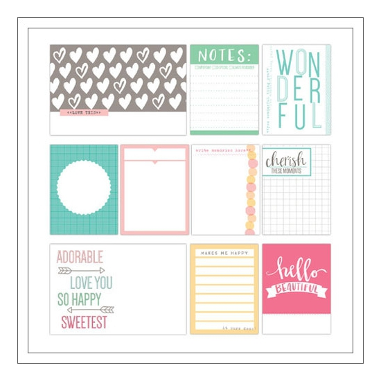 Elles Studio Journaling Tags Cienna Collection