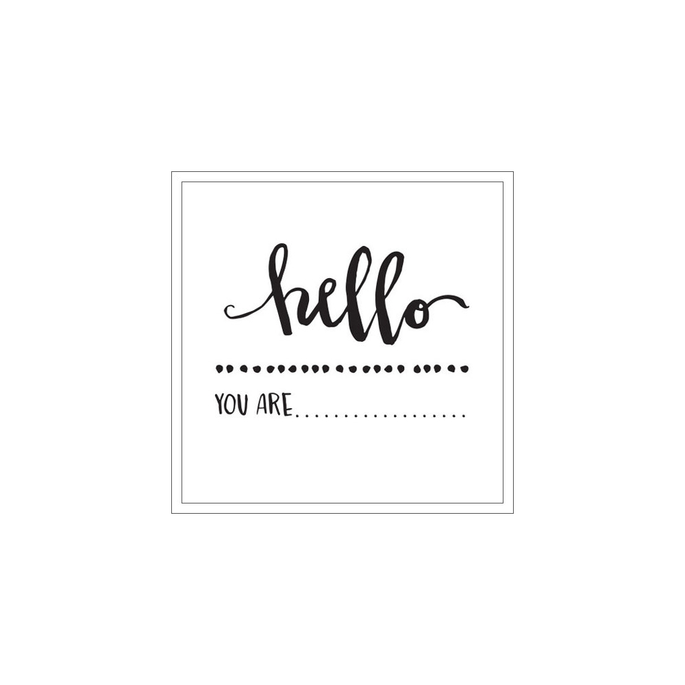 Elles Studio Clear Stamps Hello Cienna Collection