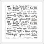 Elles Studio Vellum Paper Sheet Happy Moments Cienna Collection
