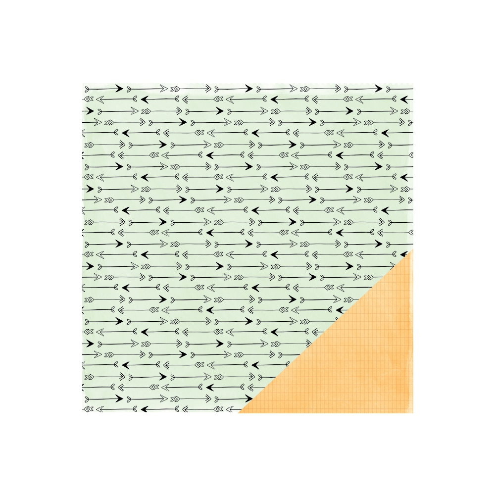 American Crafts Paper Sheet Amelia Rise and Shine Collection by Amy Tangerine
