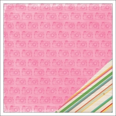 American Crafts Paper Sheet Claire Rise and Shine Collection by Amy Tangerine