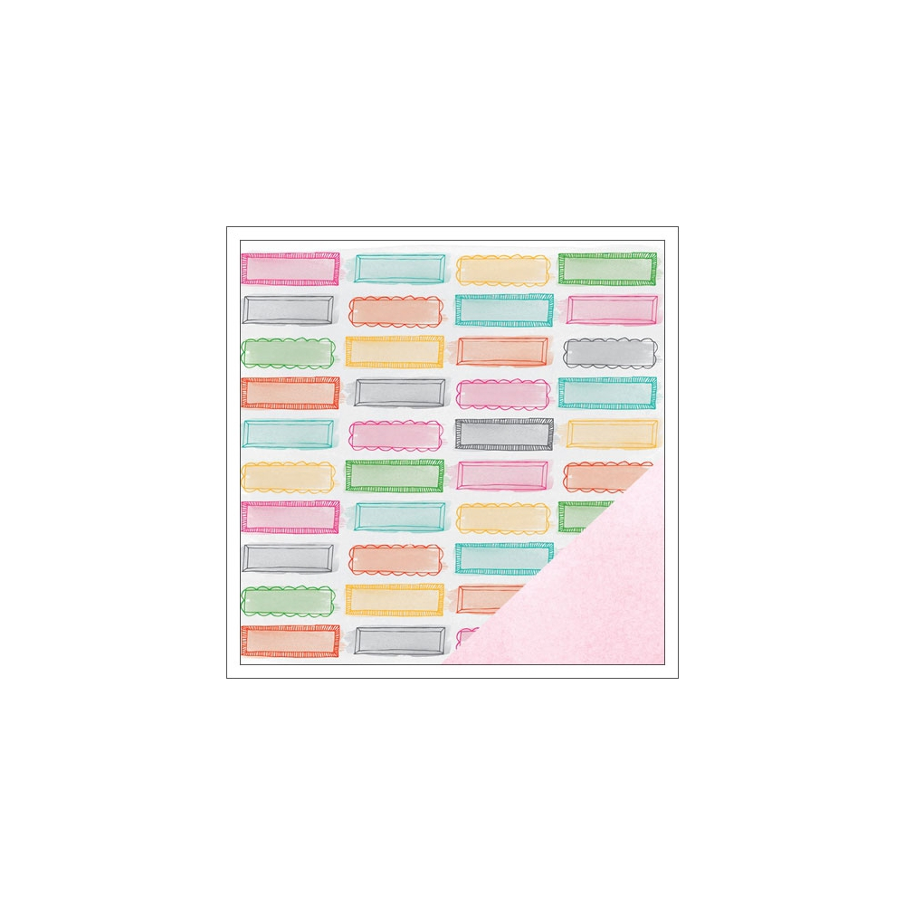 American Crafts Paper Sheet Riley Rise and Shine Collection by Amy Tangerine