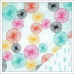 American Crafts Paper Sheet Samantha Rise and Shine Collection by Amy Tangerine