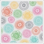 American Crafts Transparent Sheet Sophia Rise and Shine Collection by Amy Tangerine