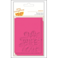 American Crafts Misting Stencils Brooklyn Rise and Shine Collection by Amy Tangerine