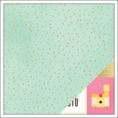 American Crafts Paper Sheet Fine and Dandy Fine and Dandy Collection by Dear Lizzy