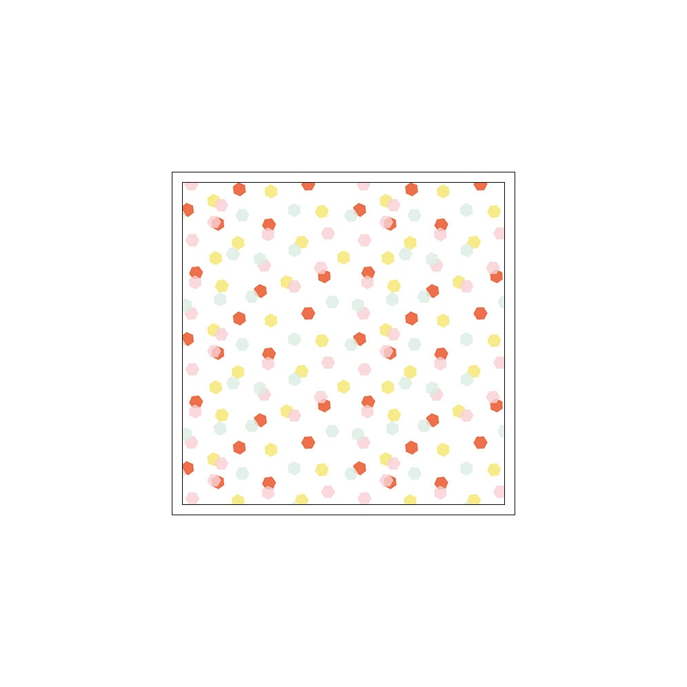 American Crafts Acetate Sheet Dazzling Fine and Dandy Collection by Dear Lizzy