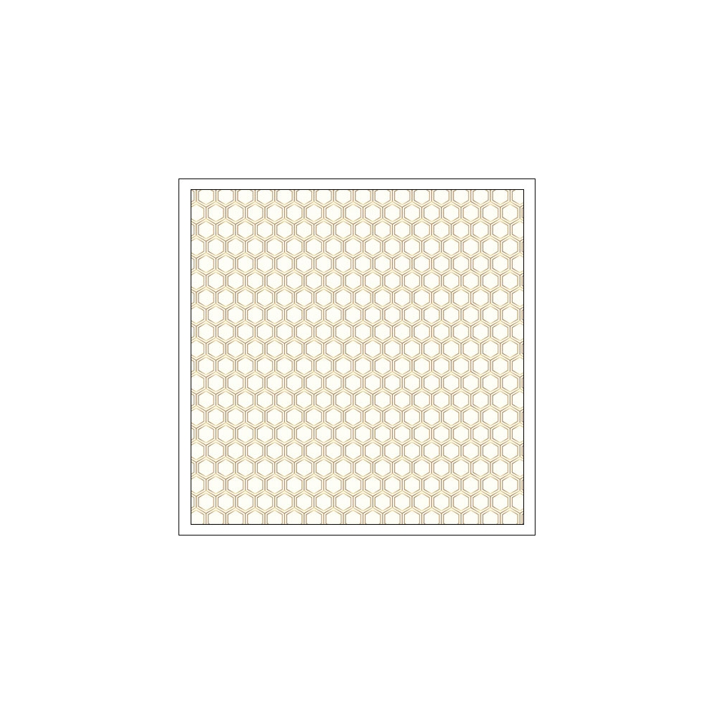 Pebbles Specialty Paper Gold Foil Honeycomb Cottage Living Collection by Jen Hadfield
