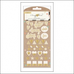 Crate Paper Puffy Stickers Confetti Collection by Maggie Holmes