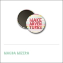 Scrapbook and More 1 inch Round Flair Badge Button Make Adventures by Magda Mizera