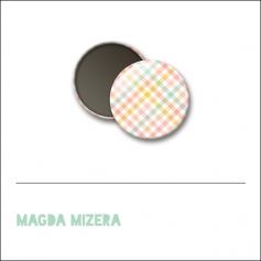 Scrapbook and More 1 inch Round Flair Badge Button Summer Background by Magda Mizera