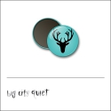 Scrapbook and More 1 inch Round Flair Badge Button Deer by Rachel Del Grosso