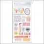 American Crafts Thicker Stickers Cardstock Phrases and Accents Darling Details Fine and Dandy Collection by Dear Lizzy