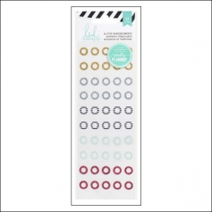 Heidi Swapp Glitter Reinforcement Stickers Hello Beautiful Memory Planner Collection