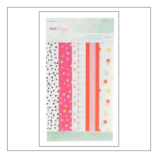 American Crafts Washi Tape Book Fine and Dandy Collection by Dear Lizzy