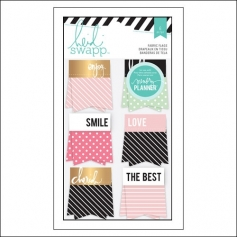 Heidi Swapp Fabric Flags Hello Beautiful Memory Planner Collection