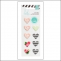 Heidi Swapp Puffy Heart Stickers Hello Beautiful Memory Planner Collection