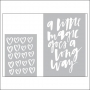 American Crafts Project Life Embossing Folders Inspire Collection by Becky Higgins