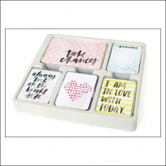 American Crafts Project Life 3x4 inches Core Kit Cards Set Inspire Edition Collection by Vanassa Perry