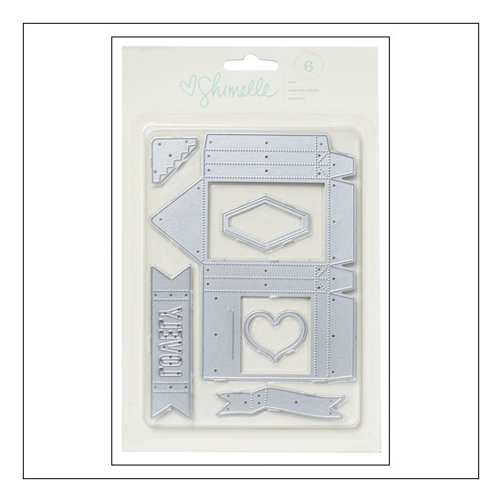 American Crafts Die Set Gift Bag Shimelle True Stories Collection