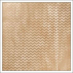 Crate Paper Specialty Paper Sheet Gold Foil Chevron Journey Collection