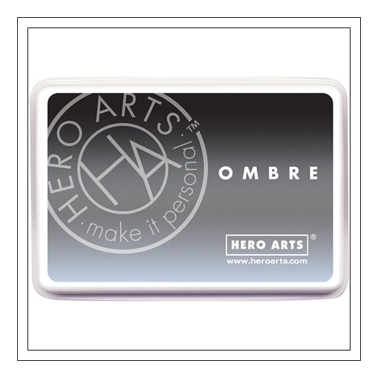 Hero Arts Ombre Ink Pad Gray To Black