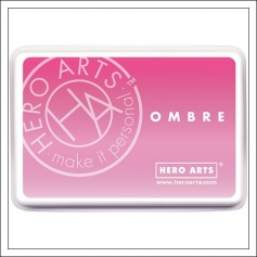 Hero Arts Ombre Ink Pad Pink To Red