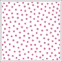 Bella Blvd Transparency Sheet 12x12 inches Clear Cuts Confetti Punch Pink Color Chaos Collection