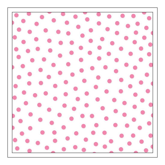 Bella Blvd Transparency Sheet 12x12 inches Clear Cuts Confetti Peep Pink Color Chaos Collection