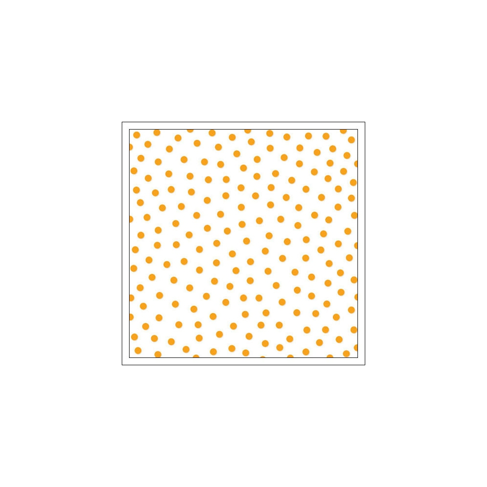 Bella Blvd Transparency Sheet 12x12 inches Clear Cuts Confetti Orange Color Chaos Collection