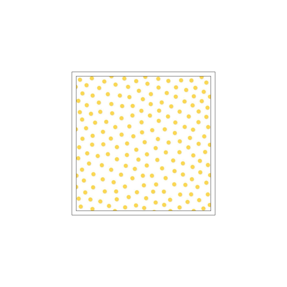 Bella Blvd Transparency Sheet 12x12 inches Clear Cuts Confetti Bell Pepper Yellow Color Chaos Collection