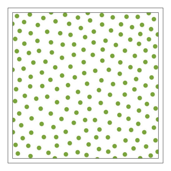 Bella Blvd Transparency Sheet 12x12 inches Clear Cuts Confetti Guacamole Green Color Chaos Collection